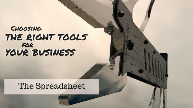 Blog graphic: Choosing the right tools for your business