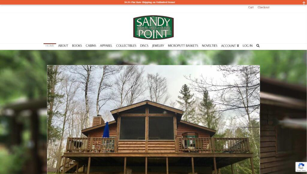 Sandy Point Pro Shop screenshot