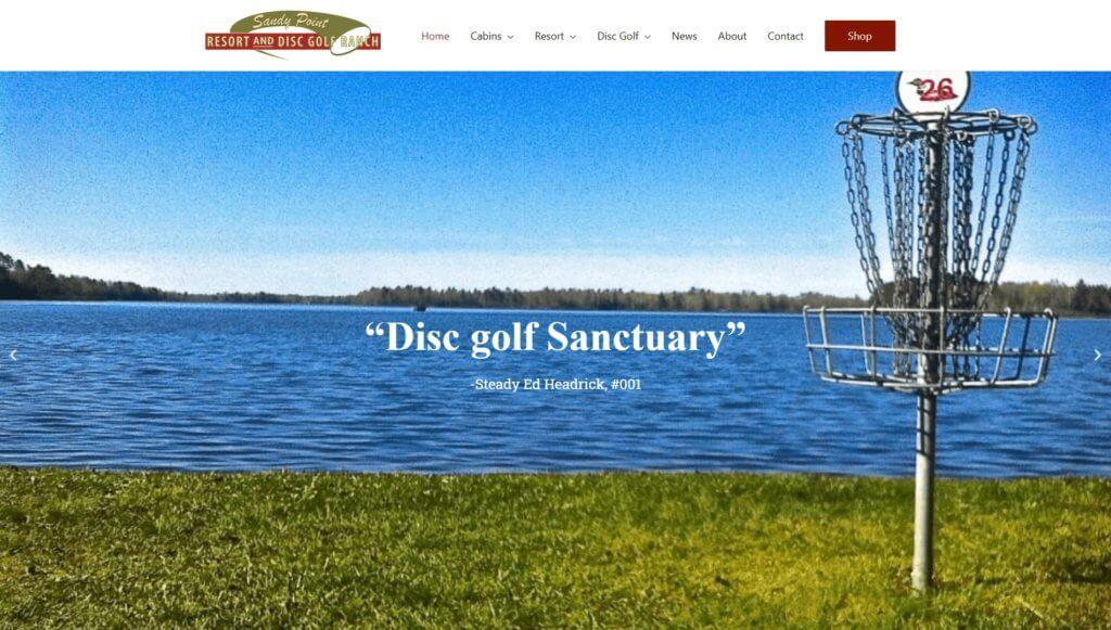 Sandy Point Resort and Disc Golf Ranch screenshot